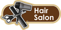 Hair Salon Signs, Orientation aids, The Care Home Designer