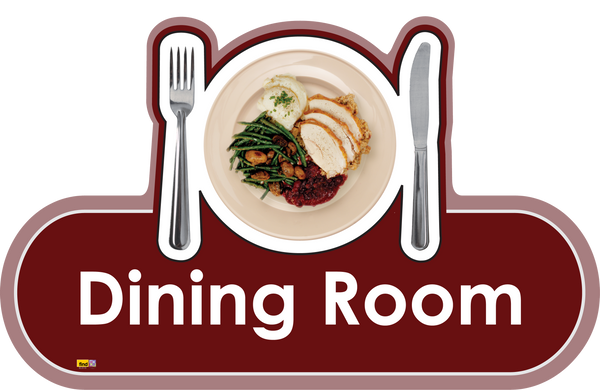 Dining Room Signs Orientation Aids The Care Home Designer