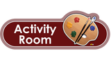 Activity Room Signs, Orientation aids, The Care Home Designer