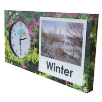 Garden Orientation Clock for sensory dementia gardens