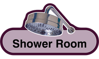 Door signs - Shower, Toilet and Bathroom, The Care Home Designer