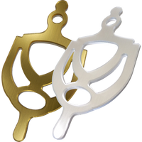 Door furniture, brushed silver and gold door knockers for alzheimer's and dementia care homeThe Care Home Designer