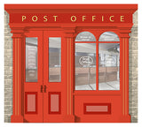 Post Office - Rollermural, , Mural for alzheimers and dementia care home with fire rating Orientation aids, The Care Home Designer