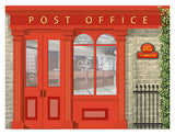 Post Office - Wallpaper mural, Orientation aids, The Care Home Designer