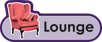 Lounge Signs, Orientation aids, The Care Home Designer