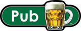 Pub Signs, Orientation aids, The Care Home Designer