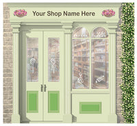 Sweet shop/Newsagent - Wallpaper mural, Orientation aids, The Care Home Designer