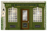 Pub - Wallpaper mural, Orientation aids, The Care Home Designer
