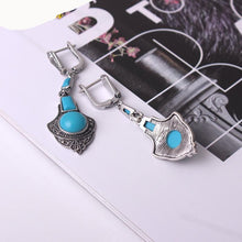 Water Drop Resin Jewelry Set Long Pendant For Girlfriend - Planet service
