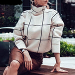 Women knitted jumpers Casual outerwear pullover sweaters - Planet service