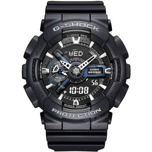 Men Sport quartz Watch LED Waterproof diving watch
