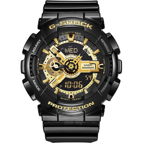 Men Quartz Sport Watch LED top luxury set Waterproof Clock