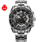 Men Sport watch quartz Waterproof Chronograph