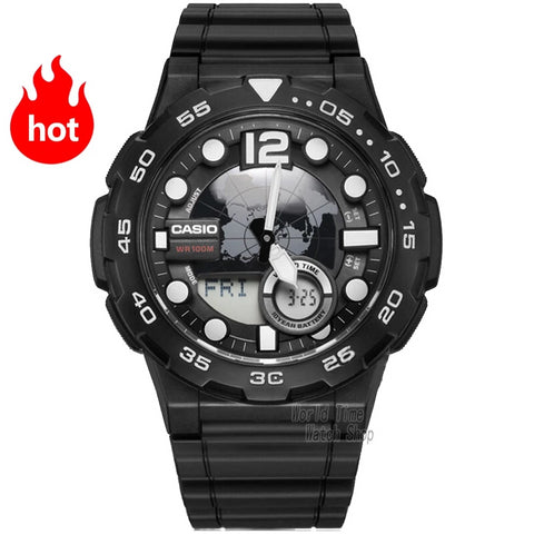 Men LED digital watch sport 100m Waterproof quartz - Planet service