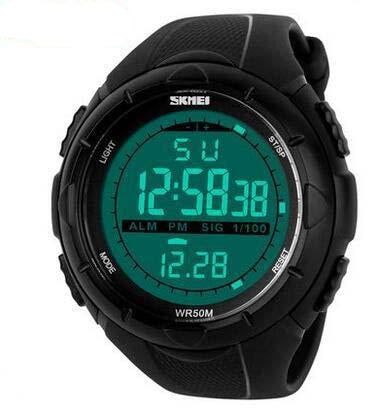 Men's Sports Casual Wrist watch 5ATM Swim Climbing - Planet service