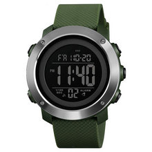 Men's Waterproof LED Digital Casual Fashion Wristwatch - Planet service