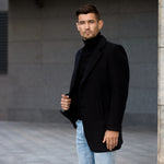 Men's Wool Blends Coat