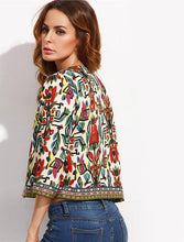 Women's Coats and Jackets Embroidered Print  Long Sleeve - Planet service