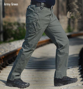 Men's pants of cotton with plenty of pockets - Planet service