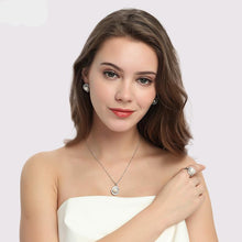 Women's Jewelry Sets Pearl Necklace/Earrings/Ring - Planet service