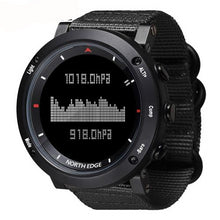 Men's sport Digital sports watch Altimeter Barometer Compass - Planet service