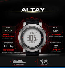 Men's Digital watch Swimming sports Altimeter Barometer - Planet service