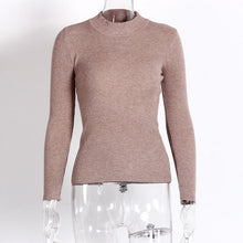 Women Sweaters And Pullovers Casual Knitted Long Sleeve - Planet service