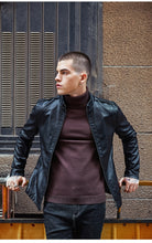Men's Clothing Motorcycle Leather Jackets - Planet service