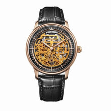 Men Wristwatch Leather Strap Automatic Watch - Planet service