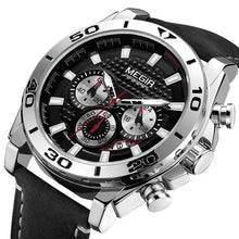 Men's Chronograph Quartz Luminous Waterproof Wristwatch - Planet service
