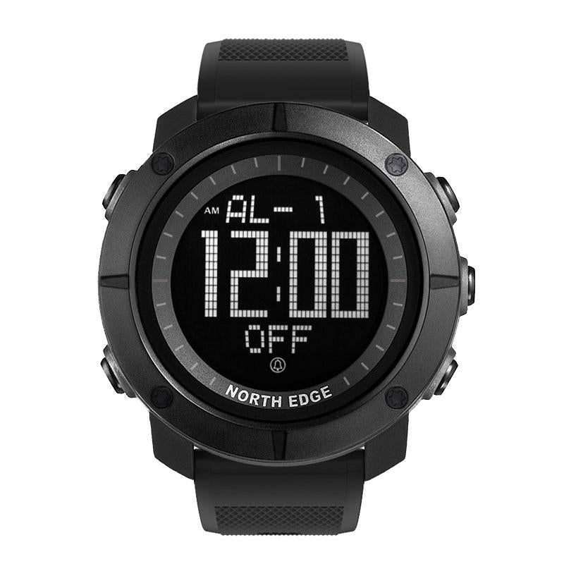 Men's sports Digital watch water resistant stopwatch timer - Planet service