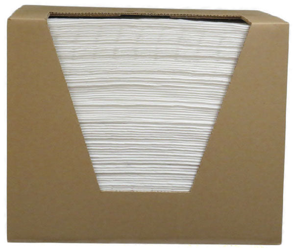 White Fine Fiber Pads & Boxed Pads