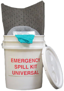 5-6 Gallon Spill Kit & Refill Kit - Hazmat/Universal/Oil Only