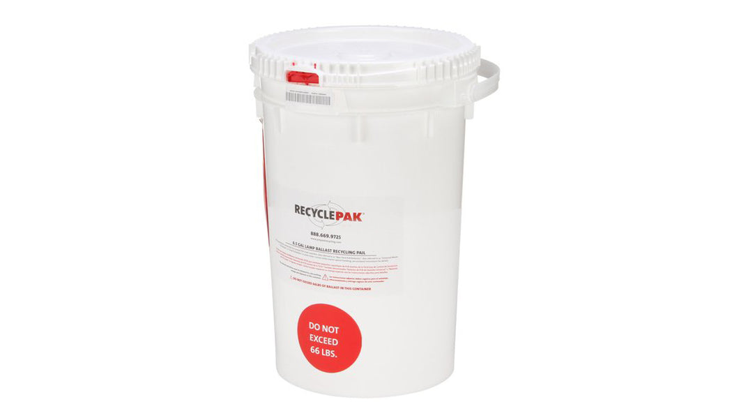 6.5 Gal Lamp Ballast Recycling Pail