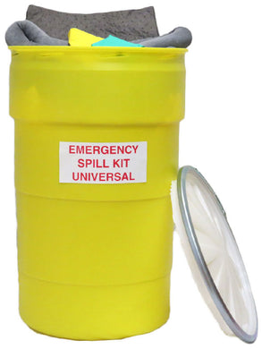 55 Gallon Oil Only Spill Kit & Refill Kit - Oil Only/Hazmat/Universal