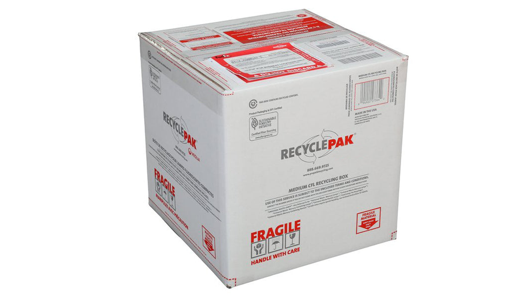 Medium CFL Recycling Box