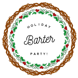 Vendor ticket Holiday Barter party