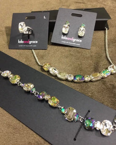 Lola and Grace Genuine Swarovski Crystal Set