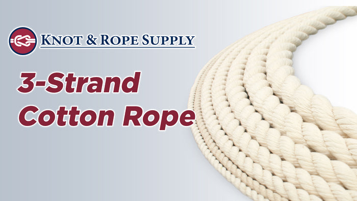 3-Strand Cotton Rope