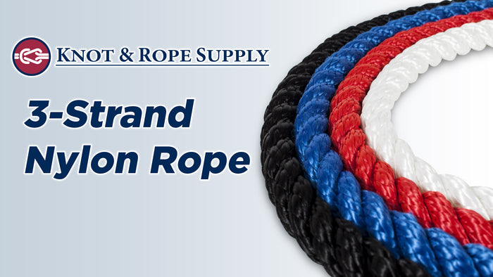 3-Strand Nylon Rope - Updated