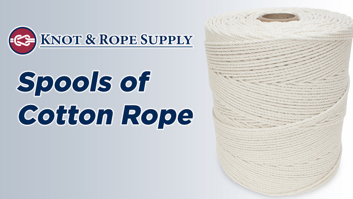 Cotton Rope Spools