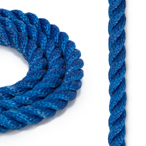 1/2 three strand bull rope