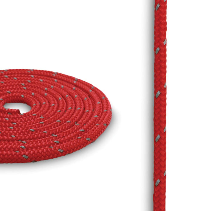 3mm Reflective Cord - Red