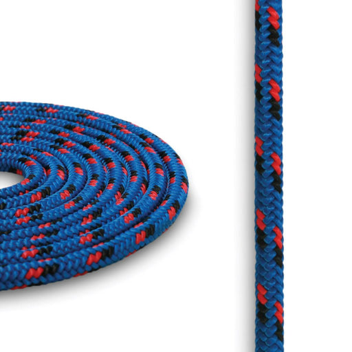 4mm Cord - Blue w/ Red & Black