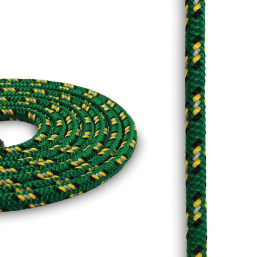 4mm Reflective Cord - Green