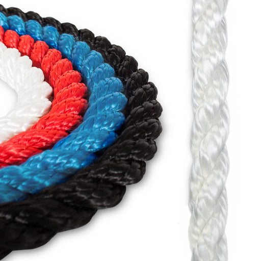 """ANCHOR ROPE DOCK LINE 1//2/"""" X 50/' BRAIDED 100/% NYLON ROYAL BLUE MADE IN USA"""