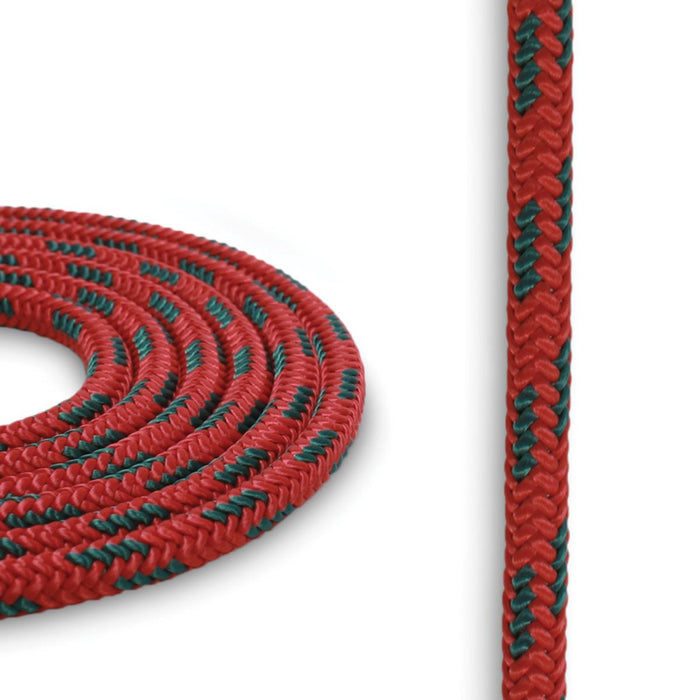 5mm Cord - Red w/ Teal