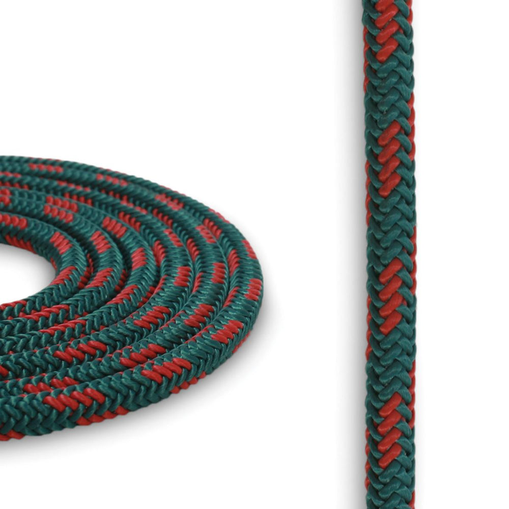5mm Cord - Teal w/ Red