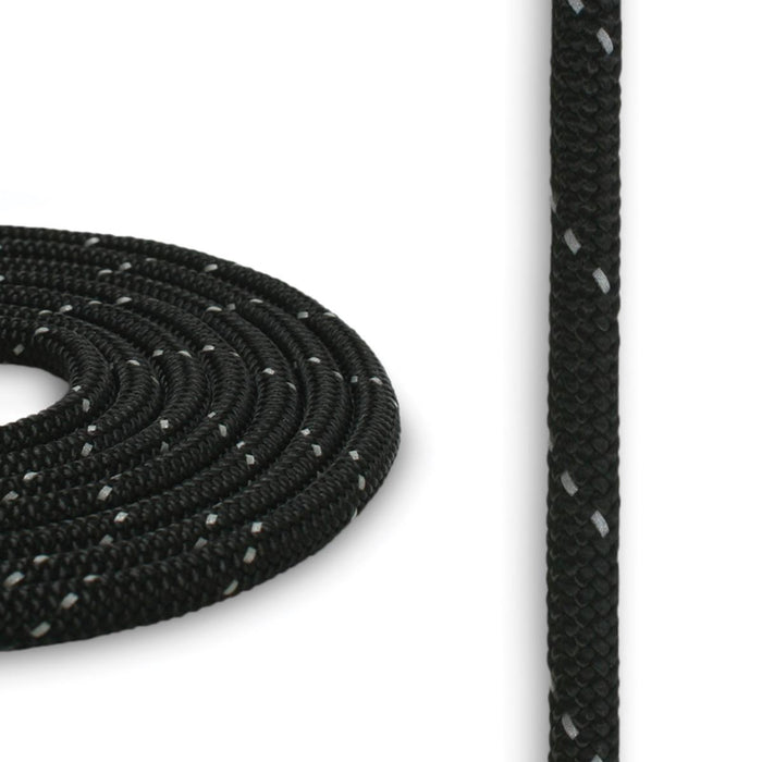 5mm Reflective Cord - Black