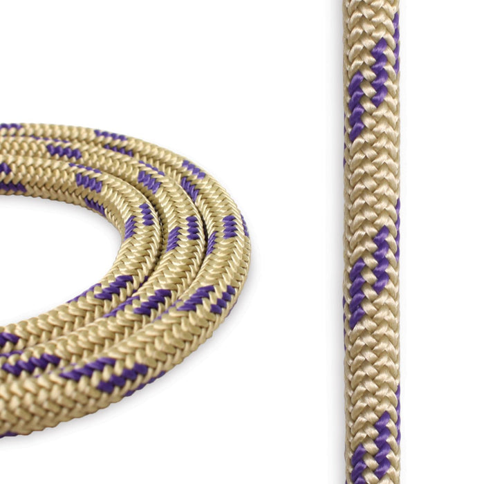 6mm Cord - Gold w/ Purple
